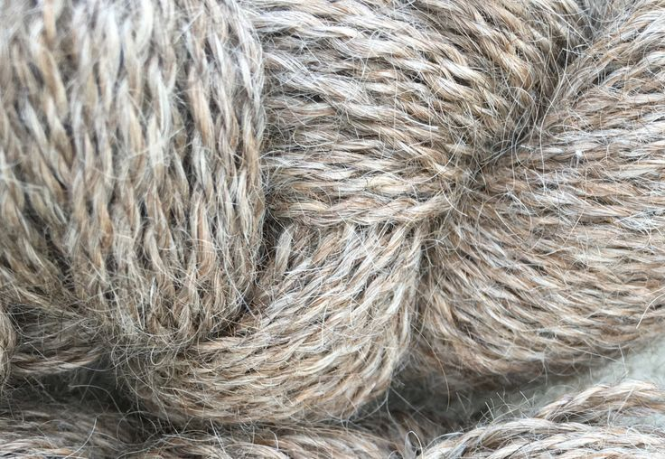 Light Brown Llama Yarn, Natural Color, Two Ply, DK Weight, 200 yards, Yarn to Knit, Yarn to Crochet, Yarn to Weave, Farm raised by YarnShackLlamasOhio on Etsy