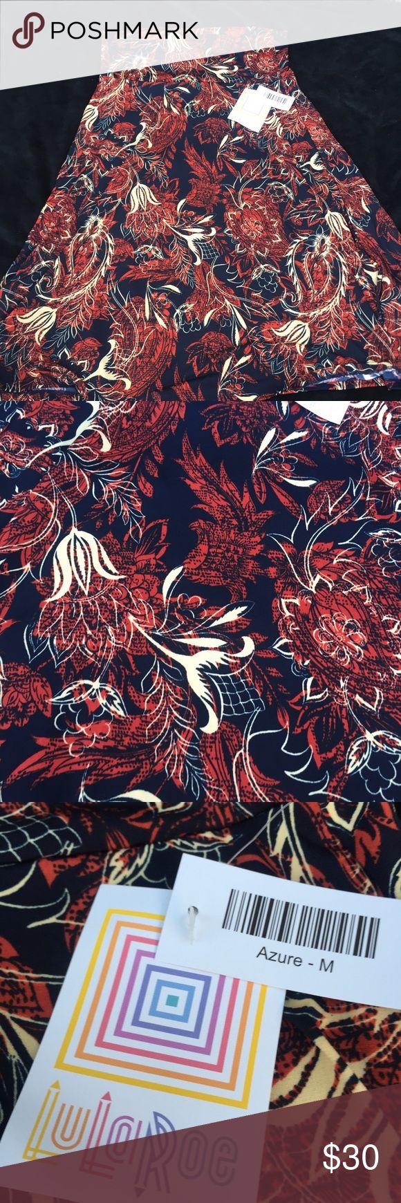 NWT Lularoe Azure Size Medium NWT Lularoe Azure Size Medium LuLaRoe Skirts