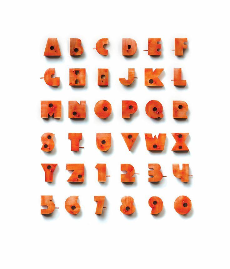 Typographic Birdhouses