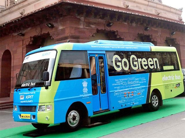 Slideshow : Electric bus service for MPs - PM Narendra Modi inaugurates pollution-free electric bus service for MPs - The Economic Times