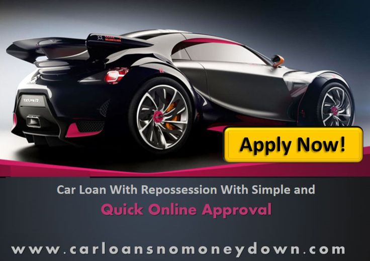 how to buy a car with bad credit and repossession