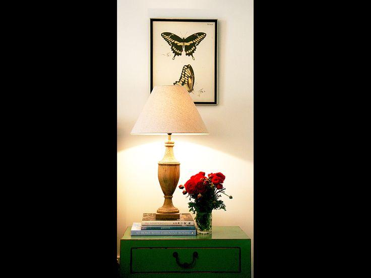 Guest room butterfly art Designed by JoanneMotee #jarthainteriors #jojartha