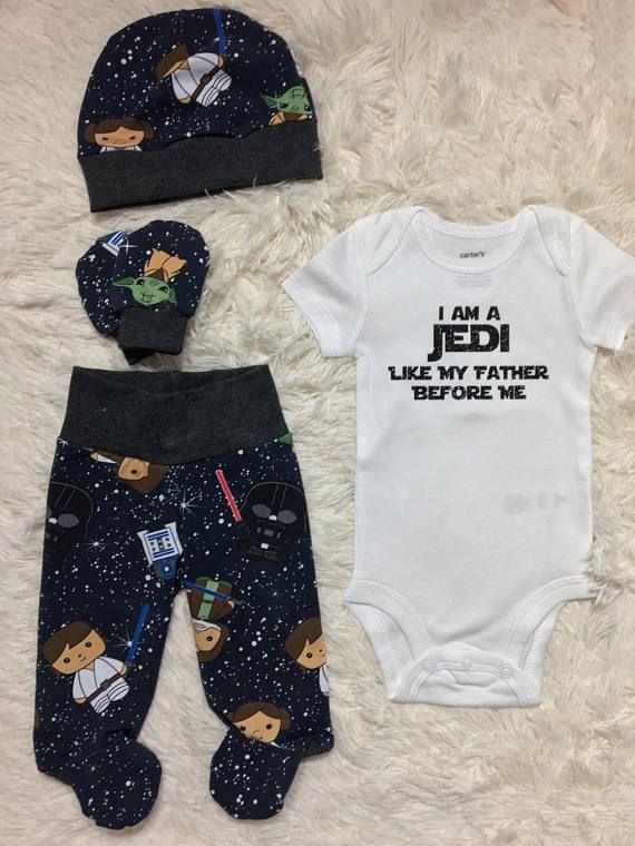 bfb7d7345 NEW! star wars newborn set