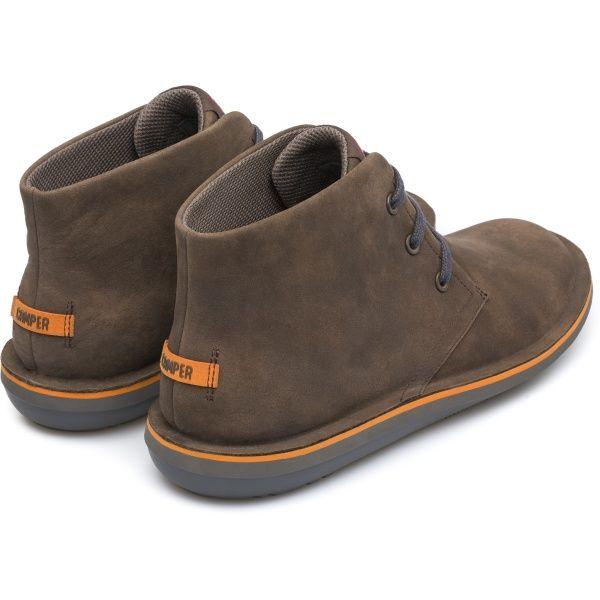 Camper Beetle Brown Ankle Boots Men 36530 051 Camper Shoes Men Ankle Boots Men Camper Shoes