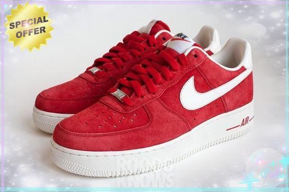 """Blazer"" University Red/Sail 488298-029 Nike Air Force 1 Low Mens"