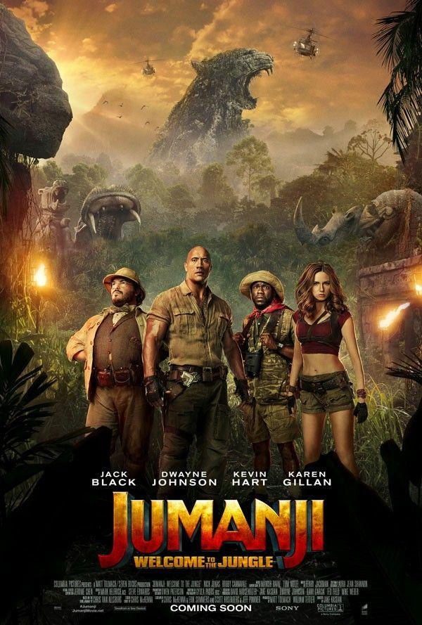 Jumanji - Welcome to the Jungle | Zack: My Favorite Movies, TV Shows