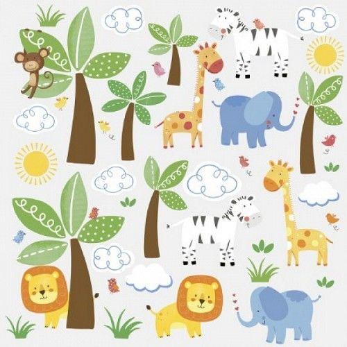Ga je mee op safari? Geniet van de warme zon en kijk naar de wilde dieren die zich verschuilen tussen de bomen. Ontdek jij de vrolijke leeuw, olifant, ...
