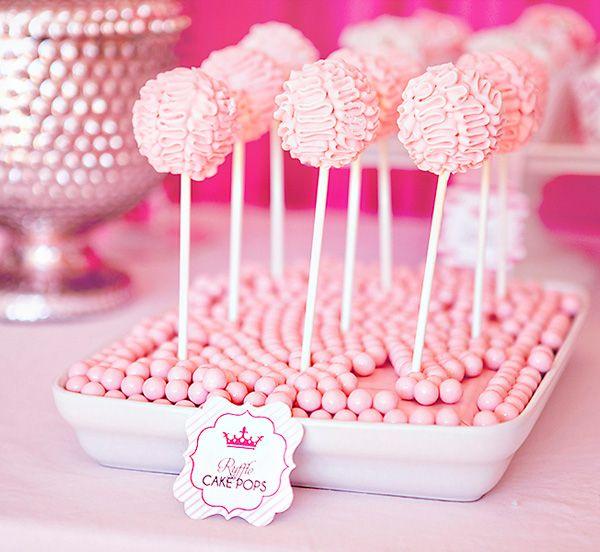 Ballerina's Birthday Bash- Ruffle pops for the ballerinas' tutus!
