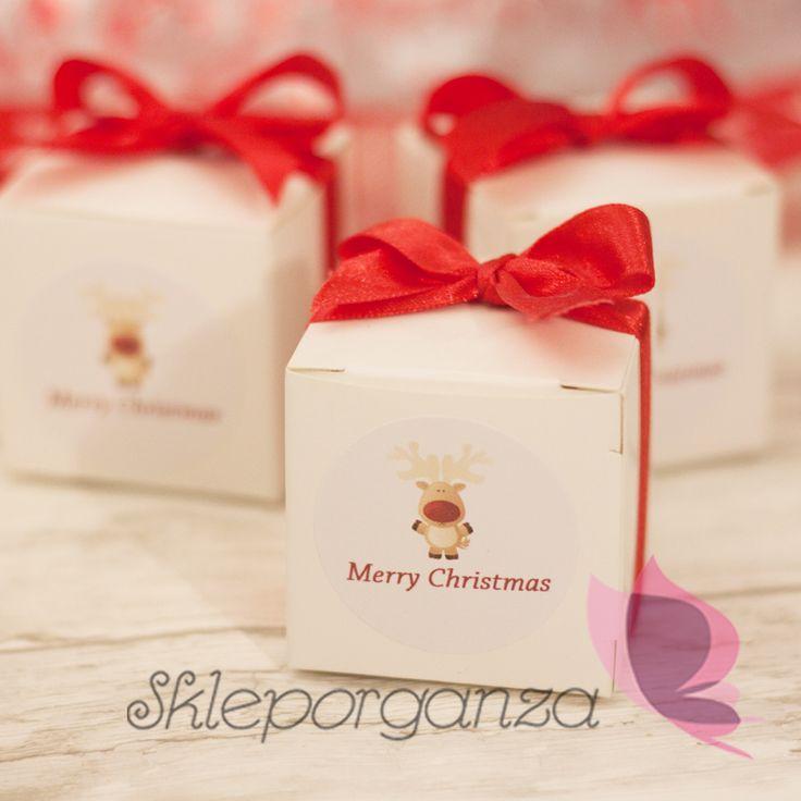 Pudełeczko na świąteczne słodycze