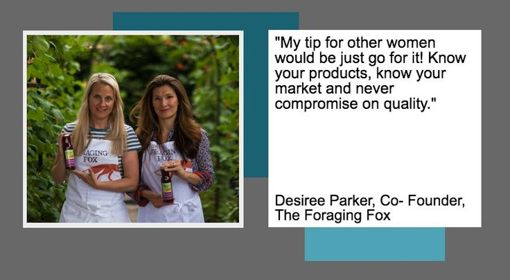 On International Women's Day 2017 Desiree Parker, shares her top tip for women planning their next business venture.