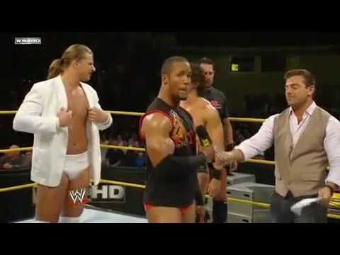 Shawn Michaels theme song singing by Byron Saxton nxt