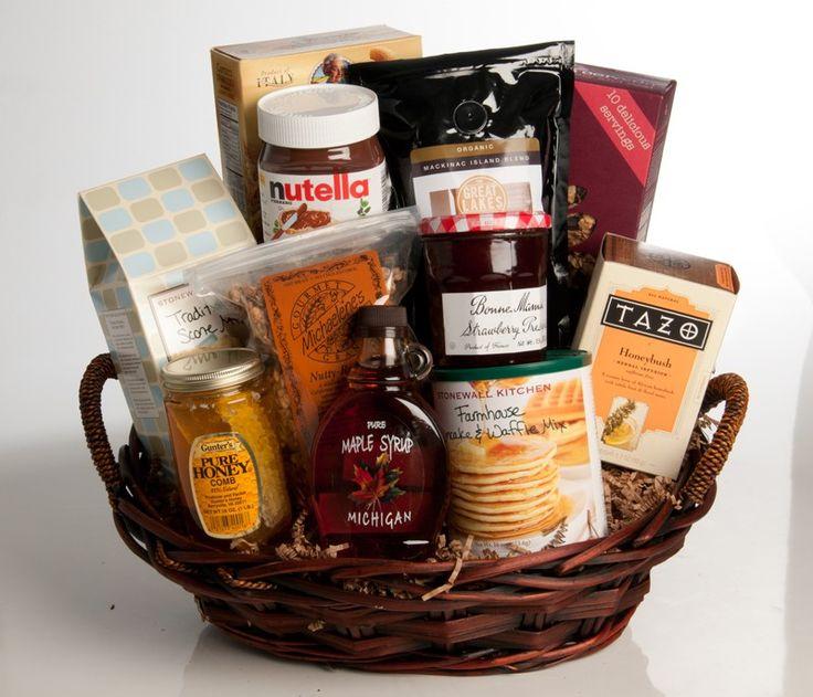 13 best breakfast gift basket images on pinterest breakfast gift breakfast gift basket negle Images