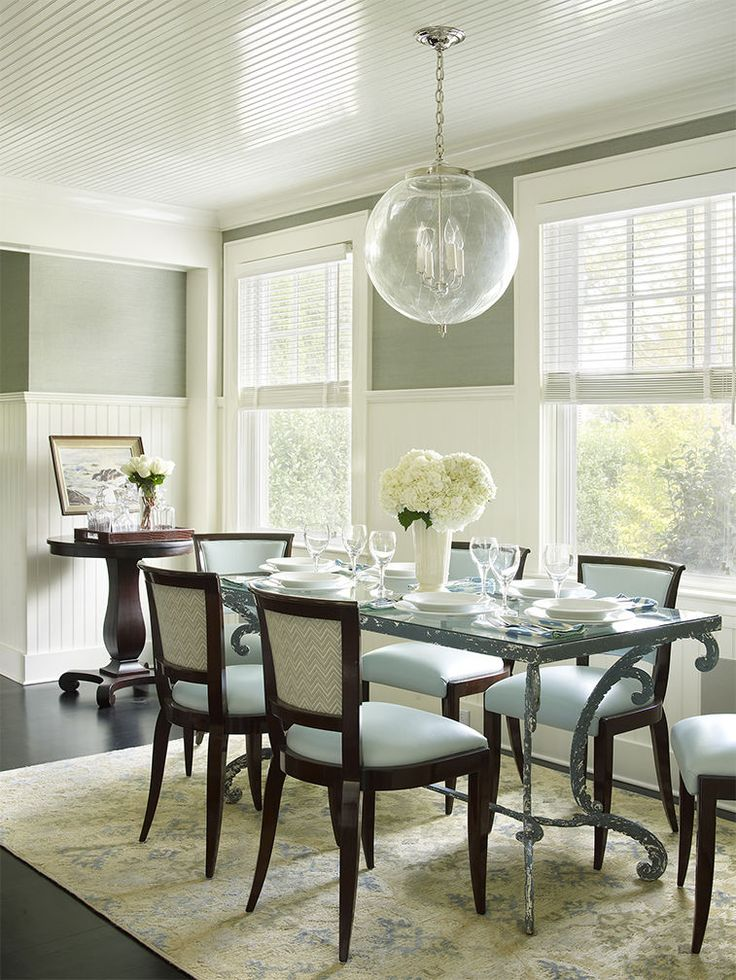 Beautiful Blue Dining Rooms: 1156 Best Dining Rooms Images On Pinterest