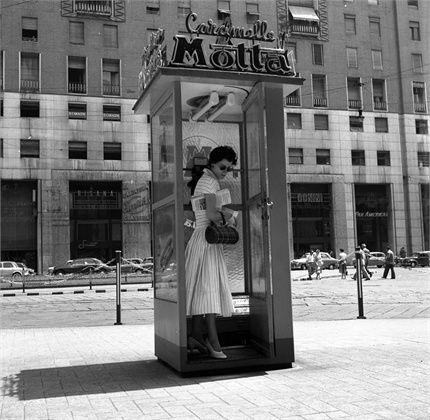 ...se trovassi una cabina del telefono simile, sarei una donna felice...