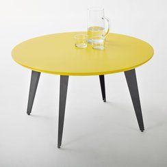 photo Table basse ronde vintage, Watford - La Redoute Interieurs