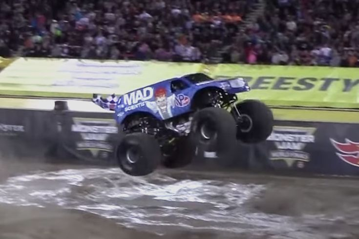 Ken Block might finally have some competition. Lee O'Donnell is the driver of the Mad Scientist monster truck and pulled off some crazy stunts behind the wheel at the Monster Jam World Finals Freestyle event. Not only did Lee pull...