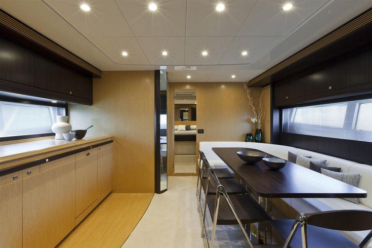 Internal view Riva Yacht - 63' Virtus  #yacht #luxury #ferretti #riva