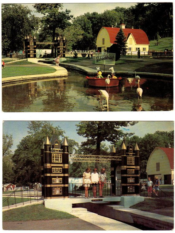 Storybook Gardens Postcards Set of Six London by BrownandDickson #ldnont