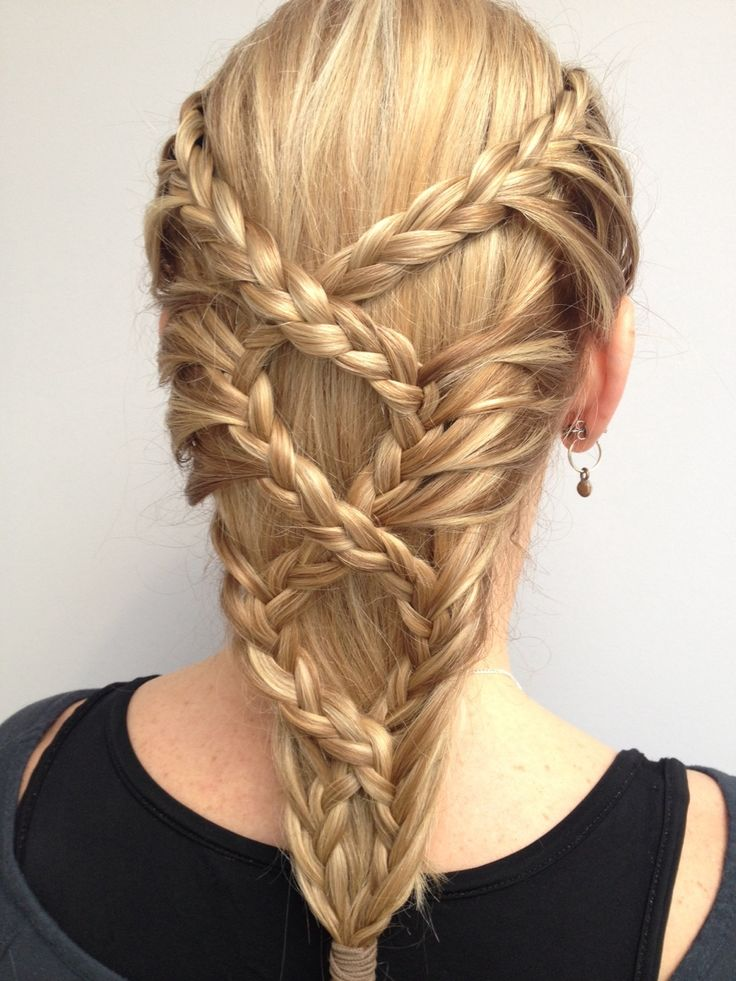 Braided back hairstyle inspiration  Hairstyles  Hair styles Braided hairstyles Long hair styles