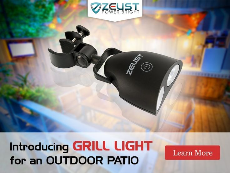 Introducing New Name In Outdoor Kitchen And Patio Lighting @Zeust.com.  Visit Today
