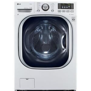 LG Electronics, 4.3 cu. ft. DOE High-Efficiency All-in-One Washer and Electric…