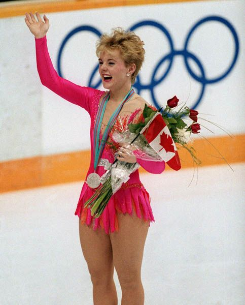 Elizabeth Manley was born (1965) in Trenton, Ontario.  She is a Canadian figure skater. She is the 1988 Olympic silver medalist, 1988 World silver medalist, and three-time Canadian champion.