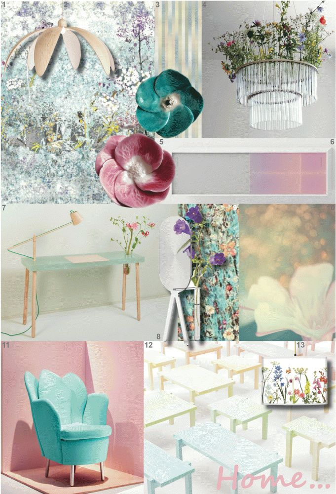 Botanical Lab Trend Spring All About Pastels