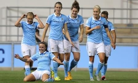 El Manchester City quiere tener el mejor equipo de fútbol femenino del mundo