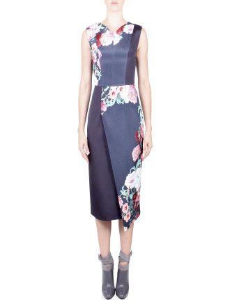 Arcadia Slimline Dress #davidjones #djsfashion #style #autumn #winter #fashion #gingerandsmart