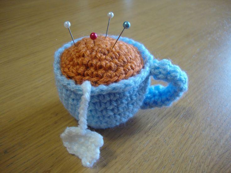 Magliallegra: Tazza di the crochet