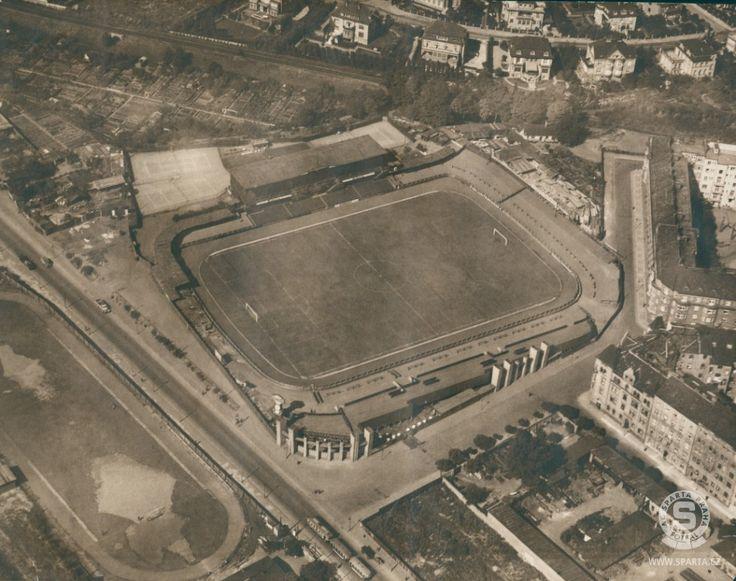 Stadion Sparty na Letné slaví sto let