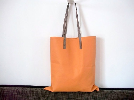 Fashion Urban Bag Caramel Shoulder bag Market bag by ILAJLA, $50.00