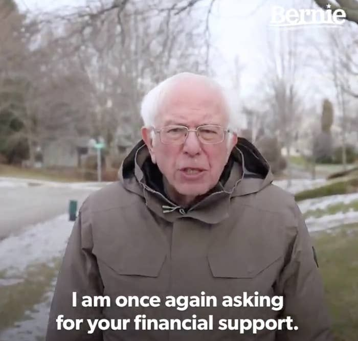 Here Are The Best Bernie Sanders I Am Once Again Asking Memes Memes Haha Funny Funny Memes