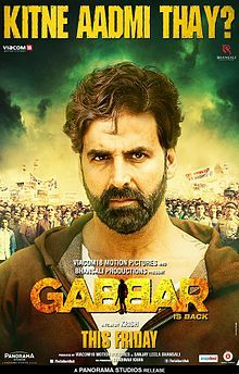 Gabbar is back first look.jpg