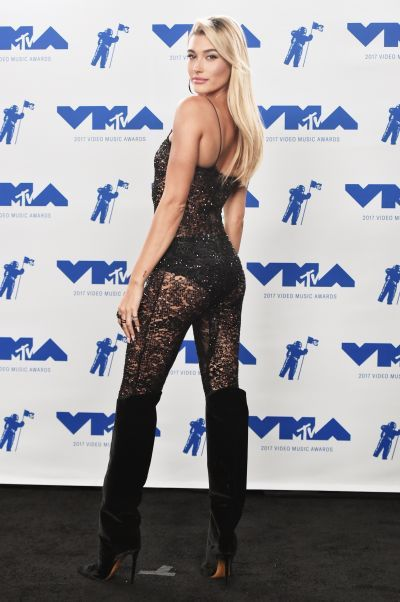 Image result for hailey baldwin mtv 2017