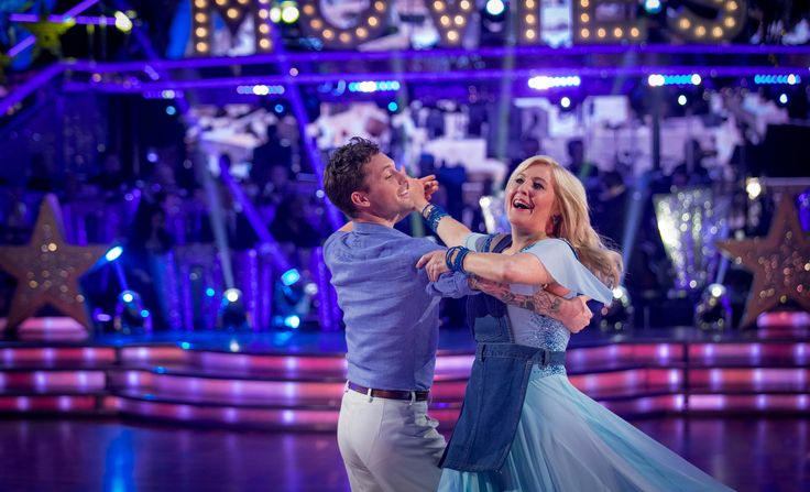 Strictly Come Dancing 2014: Week 3 - Tristan MacManus and Jennifer Gibney . Jennifer second to leave .