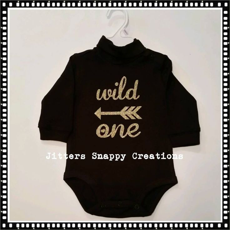 Wild One Diaper Shirt by JitterSnappyCreation on Etsy
