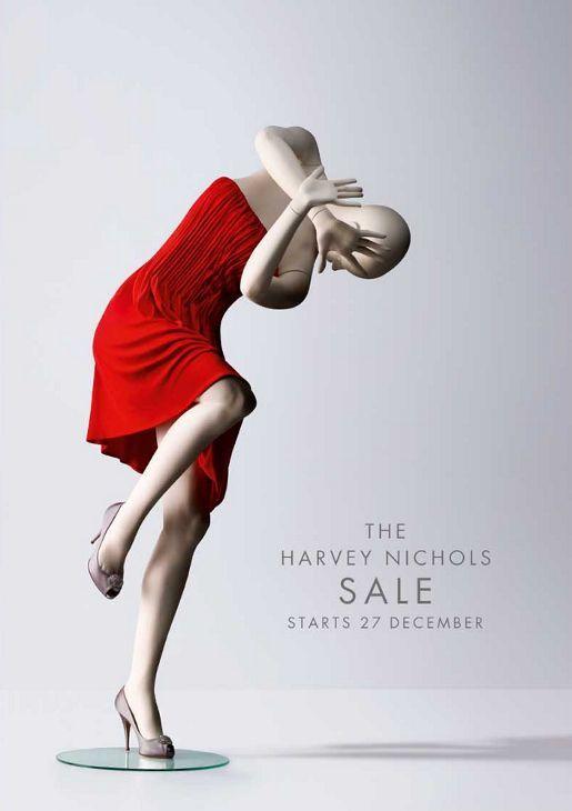 Harvey Nichols Mannequins Bracing for Sale #www.instorevoyage.com #in-store marketing #visual merchandising