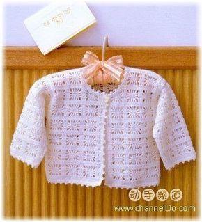 Delicadezas en crochet Gabriela: Patrones crochet bebé