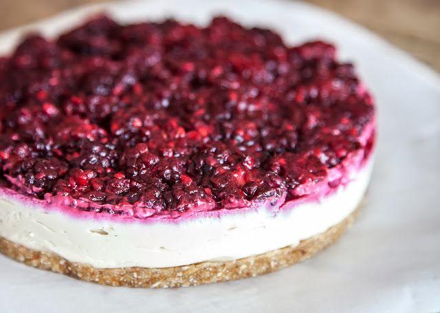 cheesecake crudivegano de moras | texturas de verduras
