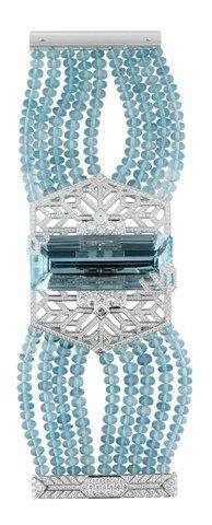 Bracelet Cartier : bijoux femme - haute joaillerie 2009 de Cartier - Bijoux femme : haute- joaillerie - bijoux luxe - Joyce.fr