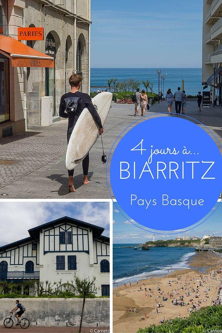 Visite de Biarritz lors d'un week-end prolongé de 4 jours - Idée d'activités et bonnes adresses