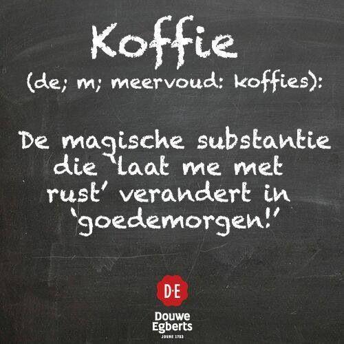 Defenitie van koffie
