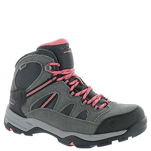 Hi-Tec Bandera Mid II Women's Waterproof Hiking Boots, Charcoal Graphite, 5.5B