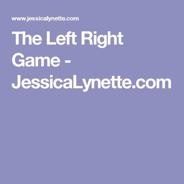 The Left Right Game - JessicaLynette.com