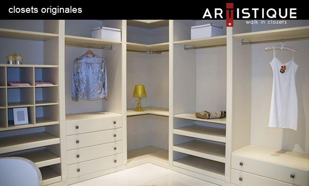 Closets Vanguardistas, regidos por la elegancia y la originalidad…!