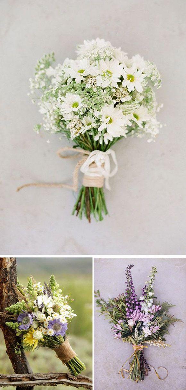 Ramos de Novia con Flores Silvestres: Los ramos de novia con flores silvestres s…