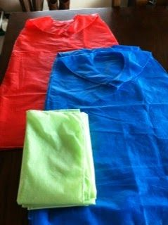 Fashion Plate: Make Kids Super Hero Capes for $.60!!!
