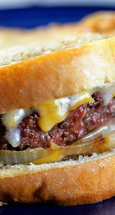 The Great American Patty Melt Recipe (My thinking is that I will use buttered and grilled Texas Toast.)