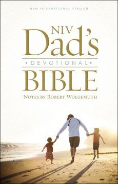 Our Everyday Harvest: NIV Dad's Devotional Bible #BookReview with Notes by Robert Wolgemuth